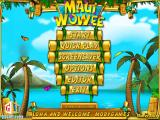 Maui Wowee Windows Main menu