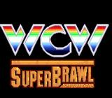 WCW SuperBrawl Wrestling SNES Title screen