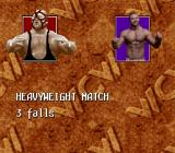 WCW SuperBrawl Wrestling SNES Before a match begins