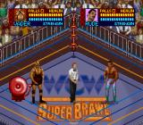 WCW SuperBrawl Wrestling SNES The match starts