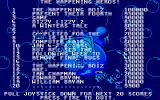 Dizzy Lizzy 2: A Winters Tale Atari ST The high score table