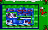Dizzy Lizzy 2: A Winters Tale Atari ST A map of the level