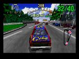 Daytona USA SEGA Saturn The beginner course is a simple tri-oval.