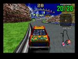 Daytona USA SEGA Saturn The second course is more complex than the beginner course.