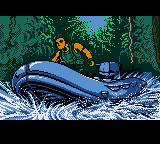 Action Man: Search for Base X Game Boy Color Zooming along some jungle stream.