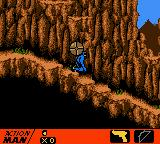 Action Man: Search for Base X Game Boy Color Where did this robot/boulder come from! Ouff!