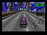 Daytona USA SEGA Saturn Did you ever notice how all Sega racing games have a suspension bridge?