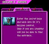 Action Man: Search for Base X Game Boy Color Your mission... should you choose to accept it.