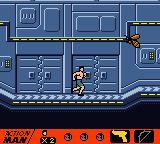 Action Man: Search for Base X Game Boy Color He won't like that I'm in here wearing my boxers... hehe