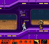 Action Man: Search for Base X Game Boy Color The most difficult bots... golden bots!