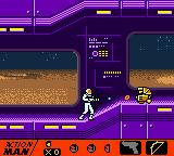 Action Man: Search for Base X Game Boy Color Golden bots can operate even if part of them is destroyed.