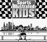 Sports Illustrated for Kids: The Ultimate Triple Dare Game Boy The opening animation