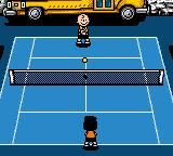 Snoopy Tennis Game Boy Color Ball's in your court now, Charlie Brown!
