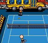 Snoopy Tennis Game Boy Color Switching sides...