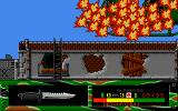 Fire Force Amiga Enemy has shot a missile at your helicopter.