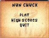 Nun Chuck Windows Title screen