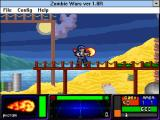 Zombie Wars Windows 3.x Slimes (default window size)