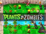 Plants vs. Zombies Windows Title screen