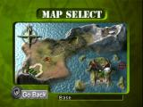 Army Men: Sarge's Heroes Windows Map selection screen in multiplayer mode