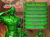 Army Men: Sarge's Heroes Windows Main menu screen
