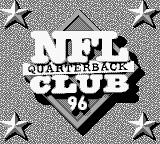 NFL Quarterback Club 96 Game Boy Title screen
