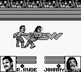 WCW Wrestling: The Main Event Game Boy Limb to the face.