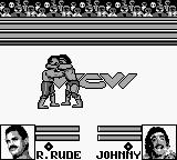 WCW Wrestling: The Main Event Game Boy Mind melt