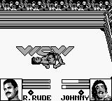 WCW Wrestling: The Main Event Game Boy A pin... sort of looks like a hermit crab.