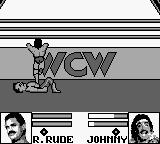 WCW Wrestling: The Main Event Game Boy Outside the arena