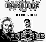 WCW Wrestling: The Main Event Game Boy You like your men a tad rude, babe?