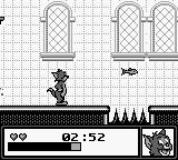 Tom and Jerry: Frantic Antics! Game Boy Who put spikes in this kitchen?