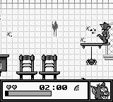 Tom and Jerry: Frantic Antics! Game Boy Is that a blood stain?