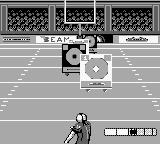 NFL Quarterback Club Game Boy Hit the correct target.