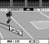NFL Quarterback Club Game Boy Obstacle course