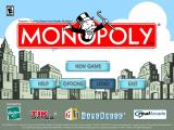 Monopoly 2008 Windows Title and main menu screen