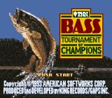 TNN Bass Tournament of Champions SNES Title screen