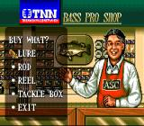 TNN Bass Tournament of Champions SNES At the Bass Pro Shop