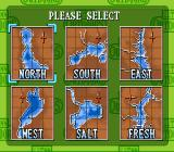 TNN Bass Tournament of Champions SNES Select a lake