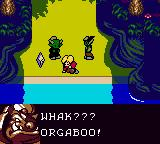 Magi Nation Game Boy Color Surrounded by orcs.