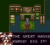 Magi Nation Game Boy Color The elder expresses skepticism regarding the the latest messiah.