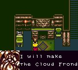 Magi Nation Game Boy Color The cloud frond, he will make it, if you find it.