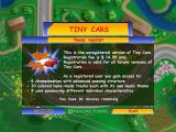 Tiny Cars Windows Title screen andregistration request (unregistered version)