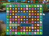 Flower Paradise Windows In level 3, I am making a match next to the rock to bust it.