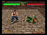 Virtua Fighter 2 SEGA Saturn Akira vs. Lau replay