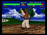 Virtua Fighter 2 SEGA Saturn Vs. Jeffry