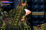 Castlevania: Circle of the Moon Game Boy Advance One of the biggest bosses in the game