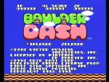 Boulder Dash NES Title screen