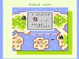 Boulder Dash NES Choose a color for your player, then begin at the world map
