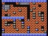 Boulder Dash NES Collect diamonds!