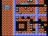 Boulder Dash NES There are strange creatures underground